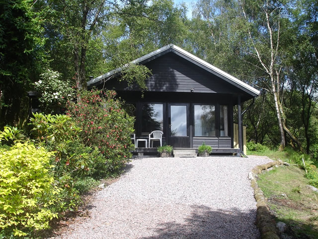 Self catering Ardnamurchan at Hillside Chalet