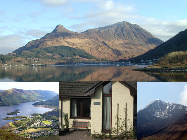 self catering cottage in Ballachulish near Glencoe