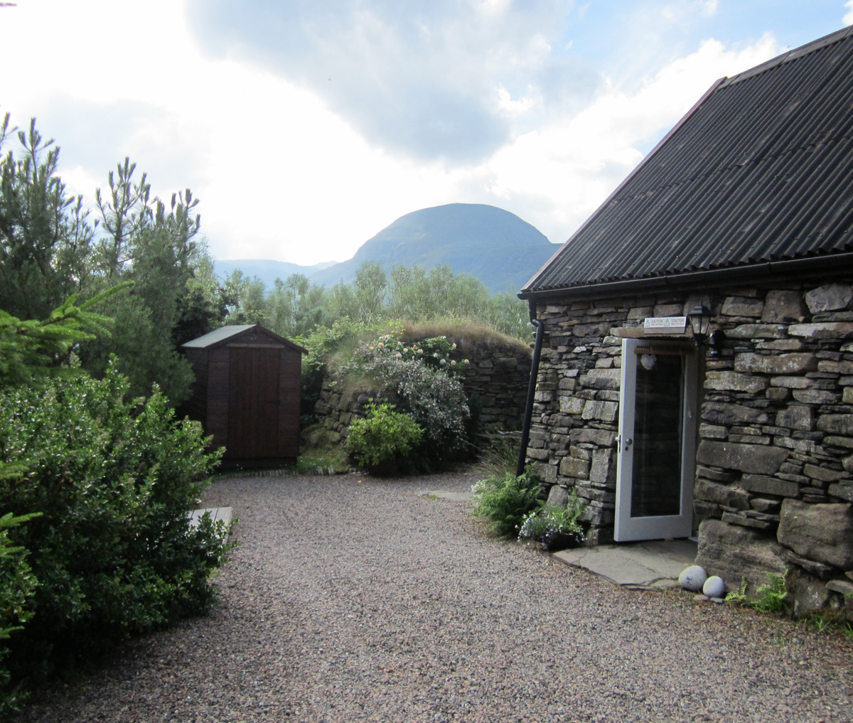 The Old Crofthouse, self catering in Durnamuck, Wester Ross