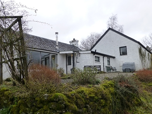 Oakbank Kilchrenan self catering by Loch Awe Argyll Scotland