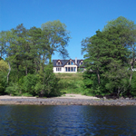 Feoran large self catering house on the shore of Loch Awe Scottish Highlands