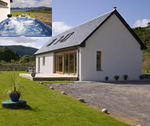 Seabank Lodge with hot tub by Loch Creran near Oban